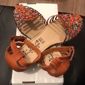 Shoes - New Hispanic Culture Traditional Pattern Sandal